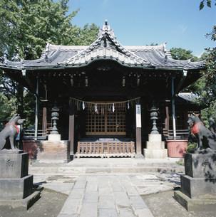 三囲神社の写真素材 [FYI03999552]