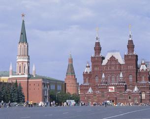 赤の広場と歴史博物館の写真素材 [FYI04000962]