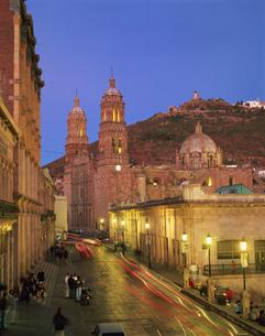 サカテカスの大聖堂の写真素材 [FYI04001192]