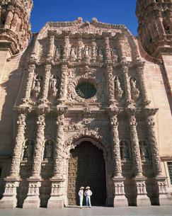 サカテカスの大聖堂の写真素材 [FYI04001195]