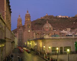 サカテカスの大聖堂の写真素材 [FYI04001252]