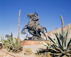 パンチョ・ビラの像の写真素材 [FYI04001256]