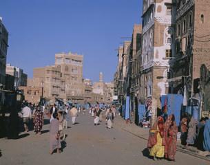 サヌアの旧市街の写真素材 [FYI04003539]