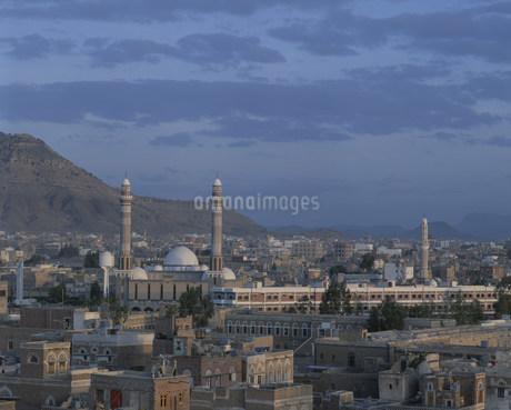サヌア市の旧市街の写真素材 [FYI04003605]