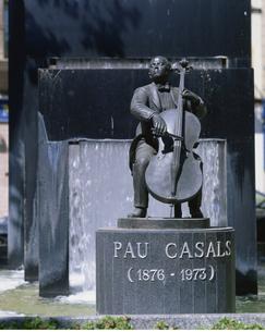 パブロ・カザルスの像の写真素材 [FYI04004312]