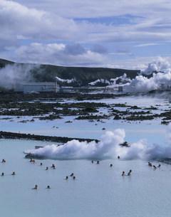 ブラゥア・ロゥニズ(ブルーラグーン)温泉の写真素材 [FYI04004849]