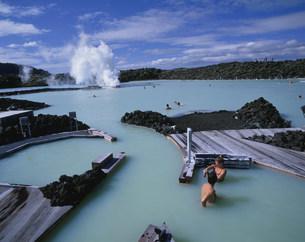 ブラゥア・ロゥニズ(ブルーラグーン)温泉の写真素材 [FYI04004852]