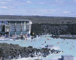 ブラゥア・ロゥニズ(ブルーラグーン)温泉の写真素材 [FYI04004853]