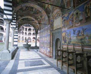 リラの僧院の写真素材 [FYI04006375]
