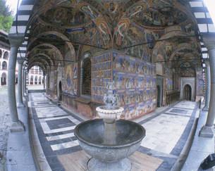 リラの僧院の写真素材 [FYI04006376]