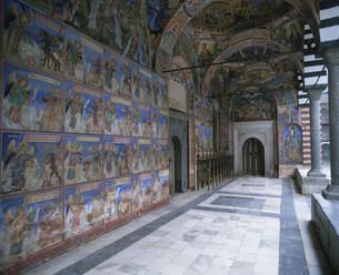 リラの僧院の写真素材 [FYI04006377]