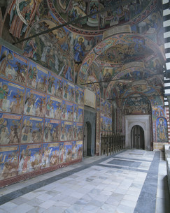 リラの僧院の写真素材 [FYI04006378]