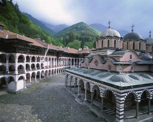 リラの僧院の写真素材 [FYI04006379]