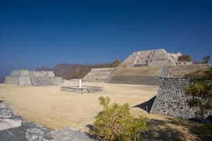 ソチカルコ遺跡の大ピラミッドの写真素材 [FYI04008933]