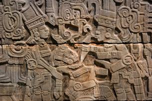 エルタヒン遺跡のレリーフの写真素材 [FYI04008993]