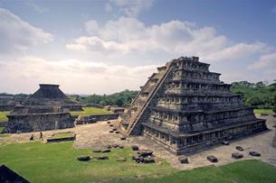 壁龕のピラミッド エルタヒン遺跡の写真素材 [FYI04008995]