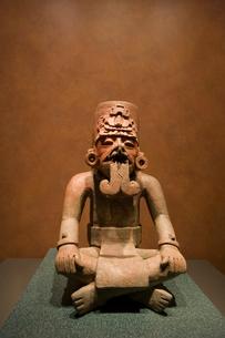 国立人類学博物館の像の写真素材 [FYI04009008]