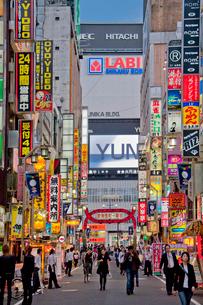 歌舞伎町の写真素材 [FYI04009019]