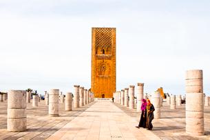 Hassan Towerの写真素材 [FYI04009140]