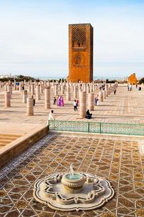 Hassan Towerの写真素材 [FYI04009143]