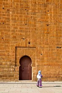 Hassan Towerの写真素材 [FYI04009146]