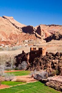 Dades Valley-Kasbahの写真素材 [FYI04009191]
