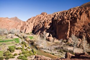 Dades Valleyの写真素材 [FYI04009195]