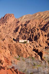 Dades Valley-Kasbahの写真素材 [FYI04009197]