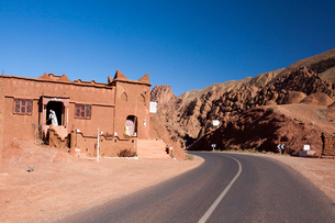 Dades Valleyの写真素材 [FYI04009199]