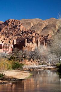 Dades Valley-Kasbahの写真素材 [FYI04009201]