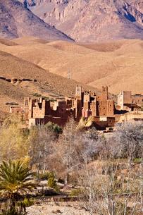 Dades Valley-Kasbahの写真素材 [FYI04009202]