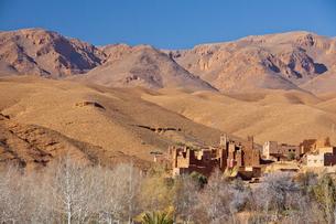 Dades Valley-Kasbahの写真素材 [FYI04009206]