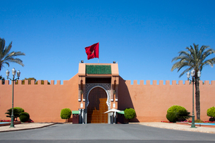 The Royal Palace Main Entranceの写真素材 [FYI04009223]