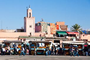 he Medina-Shop-Djemaa el-Fna Squareの写真素材 [FYI04009229]