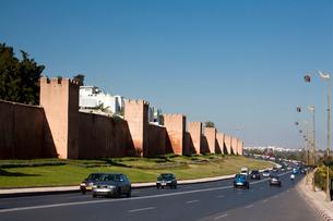Walls of the Medina (W.H.)の写真素材 [FYI04009255]