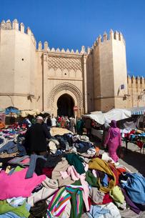 Boujloud Square and Medina Gateの写真素材 [FYI04009278]