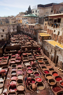 Fes Tanneryの写真素材 [FYI04009286]
