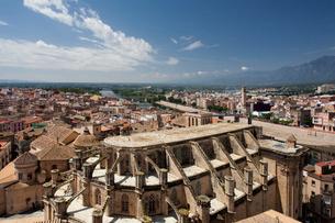 Spain, spring 2011, Tarragona Province, Tortosa City, the Caの写真素材 [FYI04009292]