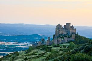 Spain, spring 2011, Aragon Region, Loarre Castleの写真素材 [FYI04009297]
