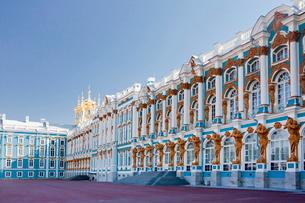 Rusia ,Near San Petersburg City ,Pushkin City, Catherina Palの写真素材 [FYI04009302]