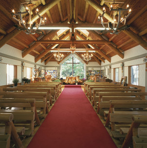 佐久カトリック教会聖堂の写真素材 [FYI04009388]