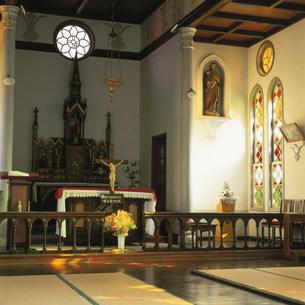 津和野カトリック教会聖堂の写真素材 [FYI04009483]