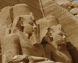 ラムセス2世像の写真素材 [FYI04009654]