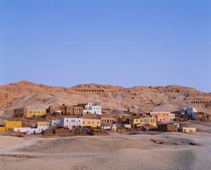 ヌビアの集落の写真素材 [FYI04009655]