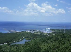 川内原子力発電所の写真素材 [FYI04010690]
