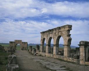 ヴォルビリス遺跡の写真素材 [FYI04010932]