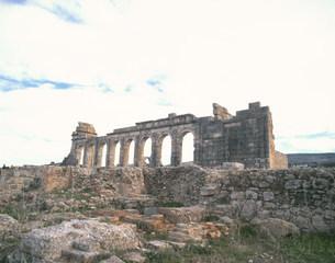 ヴォルビリス遺跡の写真素材 [FYI04010933]