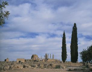 ヴォルビリス遺跡の写真素材 [FYI04010935]