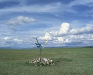 オボー 土地の守護神の写真素材 [FYI04010956]