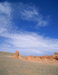 世界初恐竜の卵発見場所の写真素材 [FYI04010960]